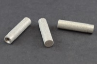 "Small ¼"" O. D. Solvent Inlet Filter SS, w/threaded SS to fit 1/8"" O.D. Teflon Tubing- Can be used as filter or Sparger"