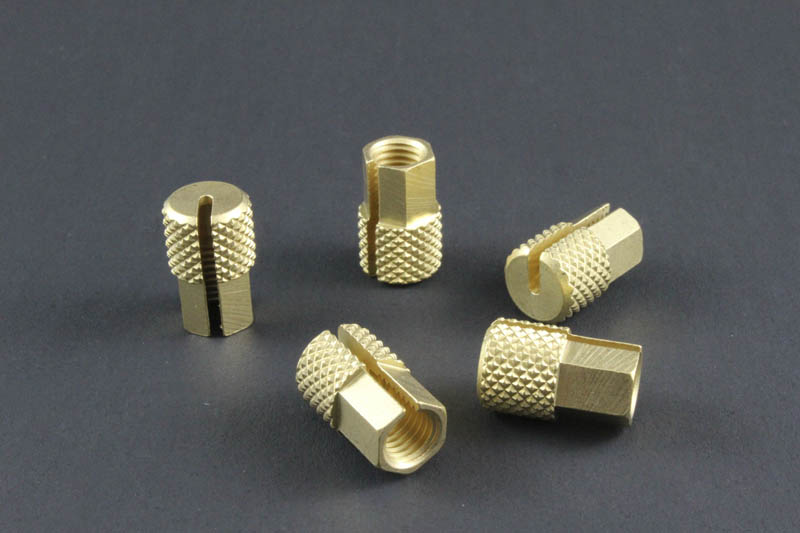 Capillary nut for varian injector brass column scale