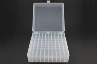 Polypropylene Gridded Vial Storage Box (5/pk)