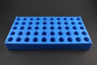 Polypropylene Vial Rack for 2.0ml, 12 x 32 mm Vials, holds 50 Vials