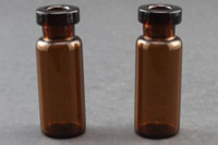 Ultra Vial Kit: 2 mL Snap Top Standard Opening Amber Glass Vials w/ Caps & Pre-Inserted Ultra GC/MS/PTFE Septa