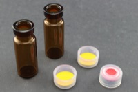 Ultra Vial Kit: 2 mL Snap Top Wide Opening Amber Glass Vials w/ Caps & Pre-Inserted Ultra GC/MS/PTFE Septa