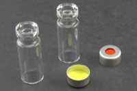Ultra Vial Kit: 2 mL Crimp Top Standard Opening Clear Glass w/ Caps & Pre-Inserted Ultra GC/MS/PTFE Septa