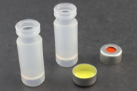 Ultra Vial Kit: 750μL Crimp Top Polypropylene Vials w/ Caps & Pre-Inserted Ultra GC/MS/PTFE Septa